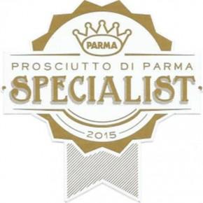 Spécialiste Jambon de Parme consortium qualité sceau épicerie RAP italie gastronomie tradition goût label logo