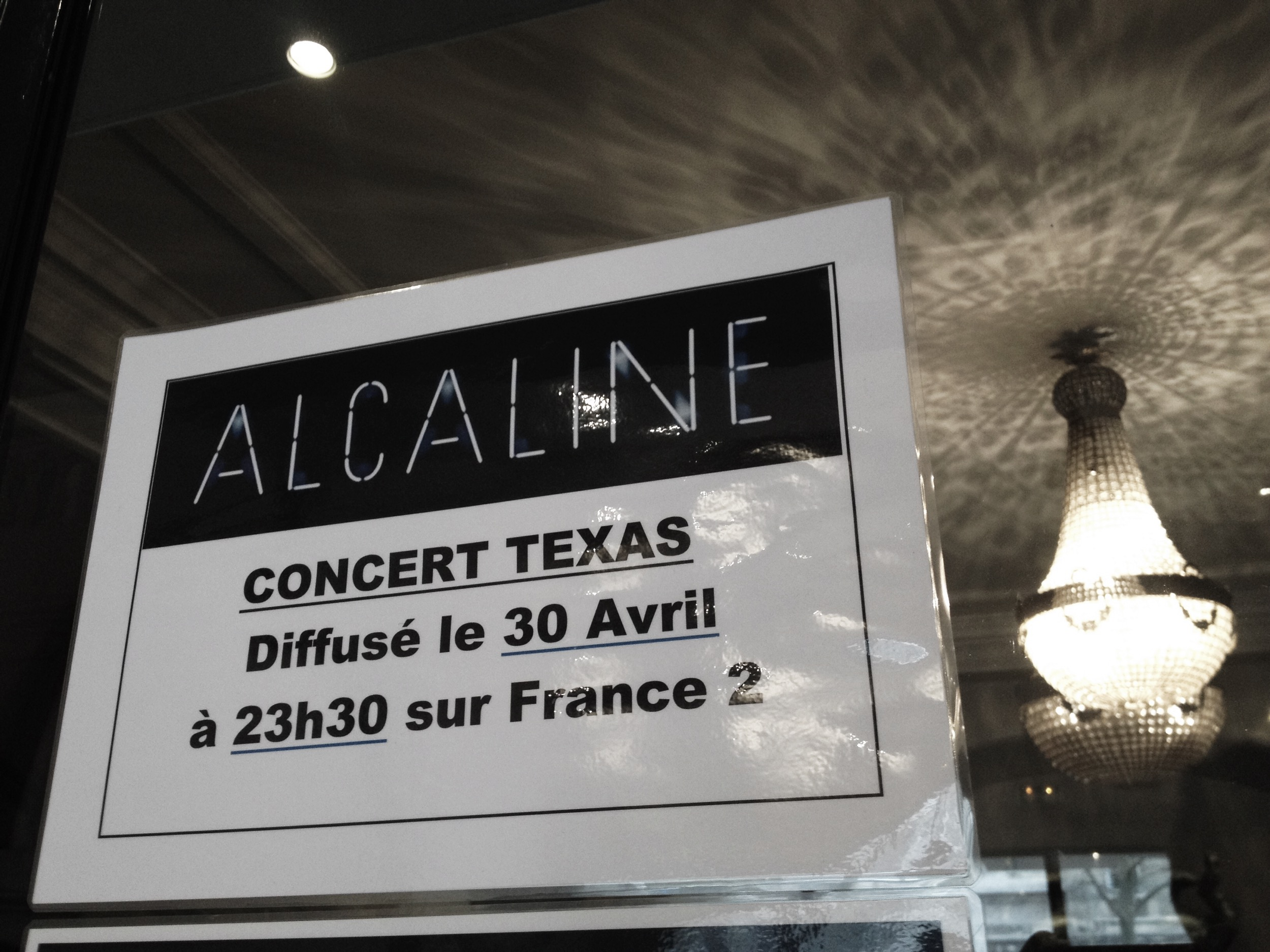 Texas Sharleen Spiteri concert live Le Trianon émission musicale Alcaline diffusion 30 avril 2015 sur France 2 album Texas 25 photo by United States of Paris blog
