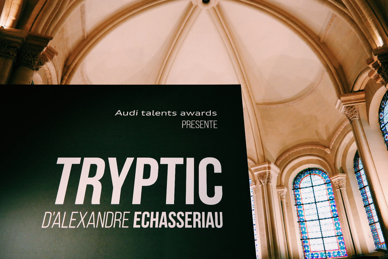 Exposition-Tryptic-Alexandre-Echasseriau-designer-lauréat-Audi-Talents-Awards-2014-Chapelle-du-Musée-des-Arts-et-Métiers-Paris-DDays-2015-photo-by-united-states-of-paris