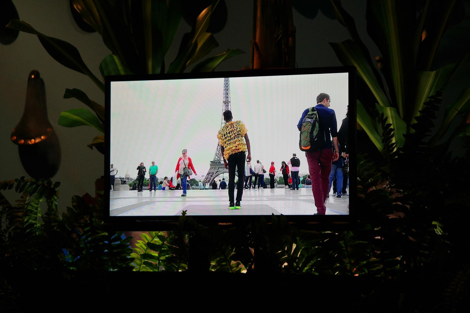 Udrivinmecraz, 2014, video perfomance de Kenny Dunkan, Prix de l'ADAGP