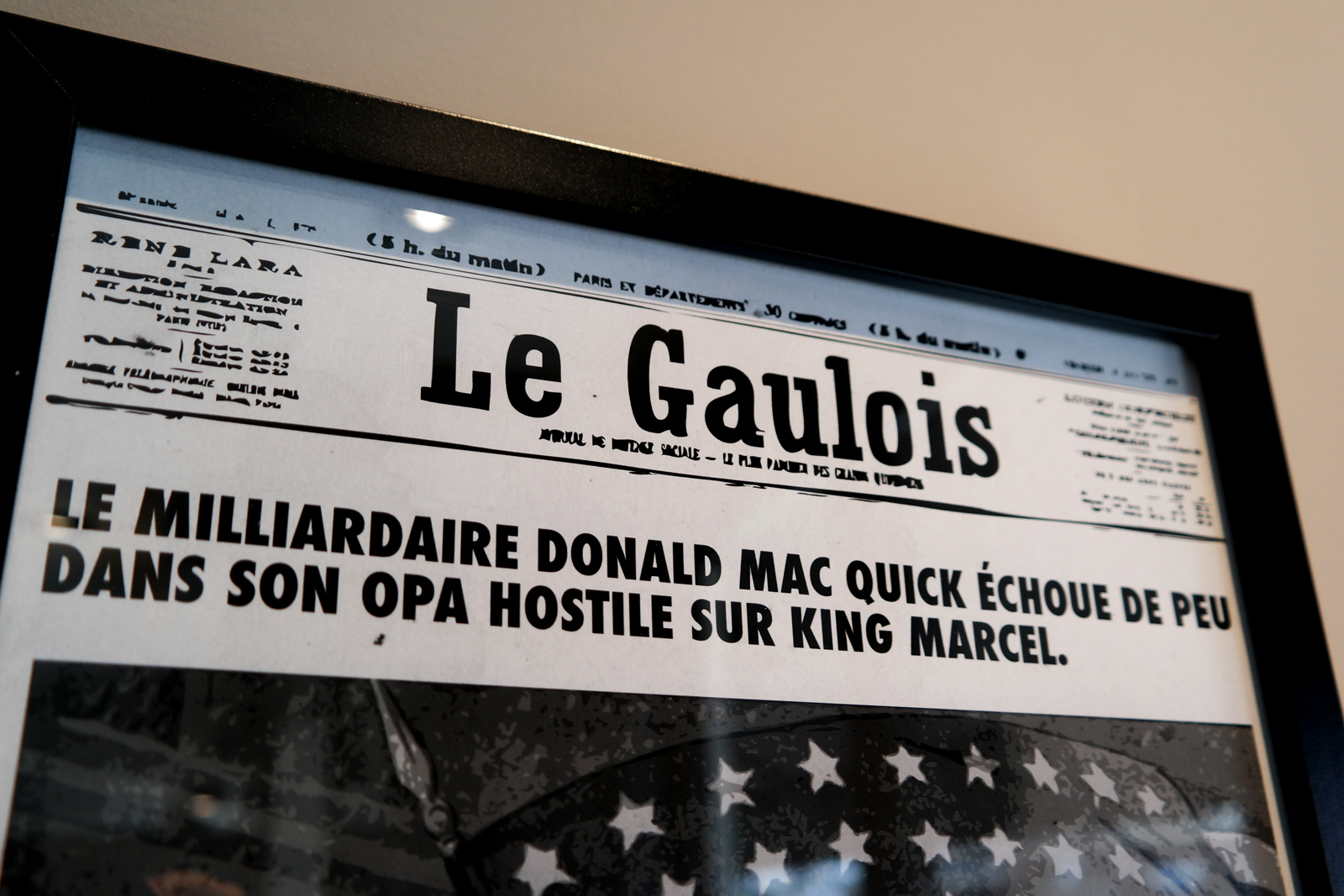 Archive du King Marcel