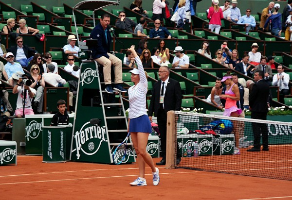 Roland Garros 2015 tournoi tennis  Maria Sharapova gagnante championne Priceless Mastercard grand chelem France Porte Auteuil sport photo by United States of Paris