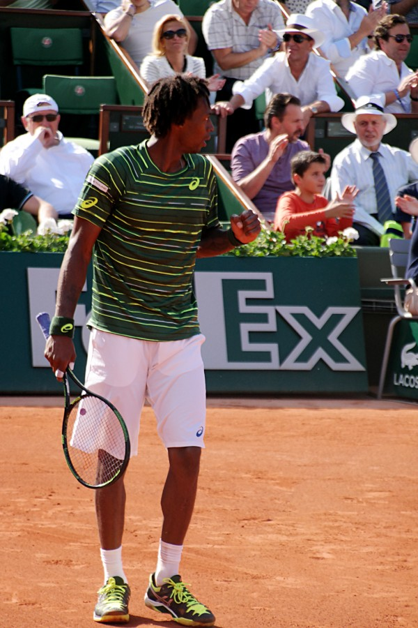Roland Garros 2015 tournoi tennis Priceless Mastercard Gaël Monfils grand chelem France Porte Auteuil sport Court Chatrier photo by United States of Paris
