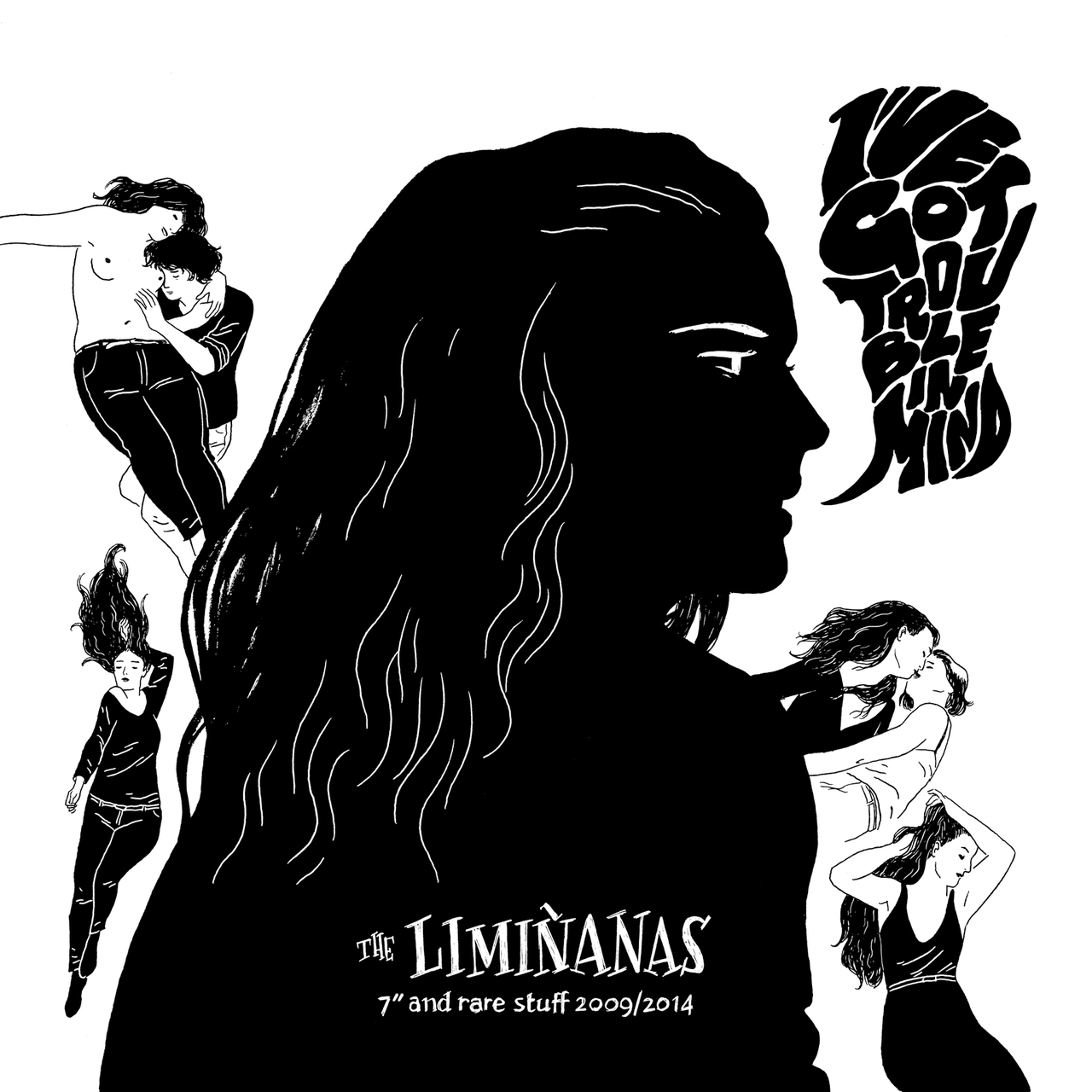 The Liminanas I ve got trouble in mind singles and rare stuff 2009 2014 cd Trouble in Mind records french band music Lionel Marie