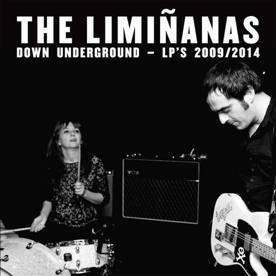 The Liminanas down underground LP s 2009 2014 double cd intégrale anthologie album Because Music groupe couverture Lionel et Marie