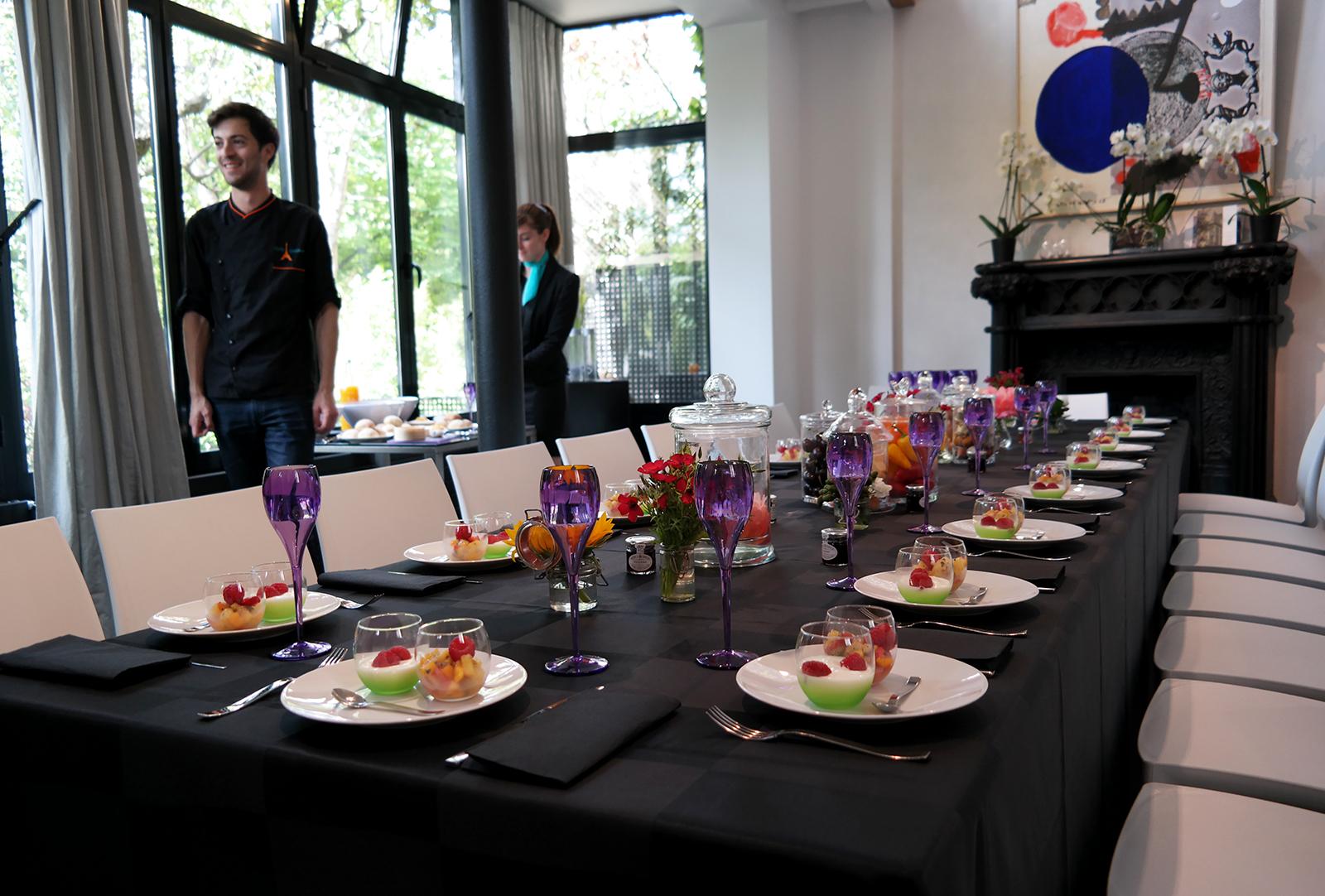 Jardin bistronomique 6 mandel jean christophe st erke for Diner dans un jardin paris
