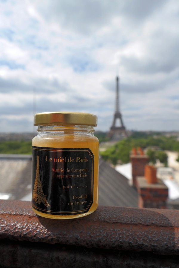 Miel de Paris Audric de Campeau Green Tomato Cars honey Tour Eiffel abeilles rûche gastronomie bio diversité goût une Photo by Blog United States of Paris