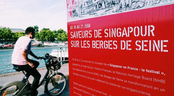 Singapour sur les Berges de Seine : street food, jeux et mode !