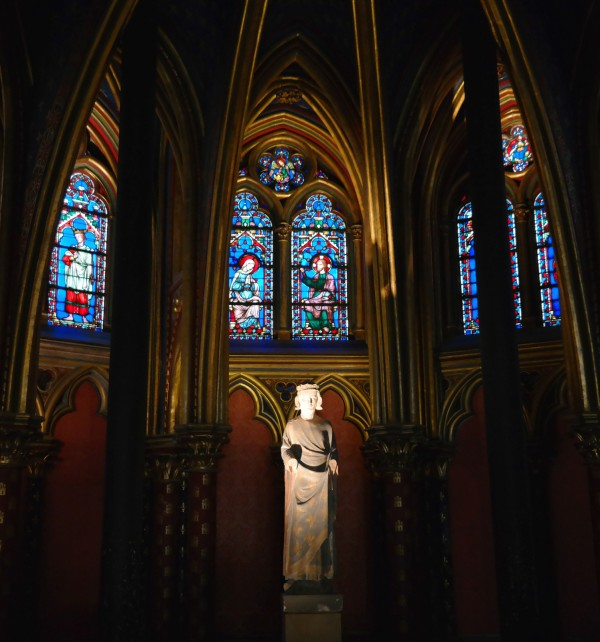 Vitraux Sainte Chapelle Paris Saint Louis IX chapelle basse art rénovation visite Photo by Blog United States of Paris