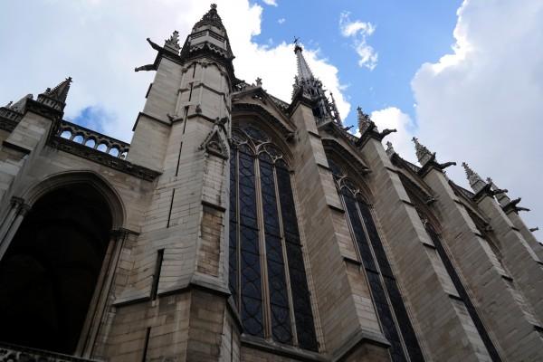 Vitraux Sainte Chapelle Paris conciergerie Palais de justice art rénovation visite Photo by Blog United States of Paris