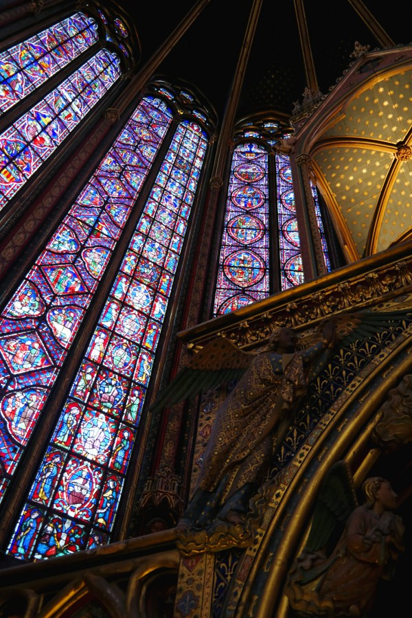 Vitraux Sainte Chapelle Paris reliques beau art rénovation visite Photo by Blog United States of Paris