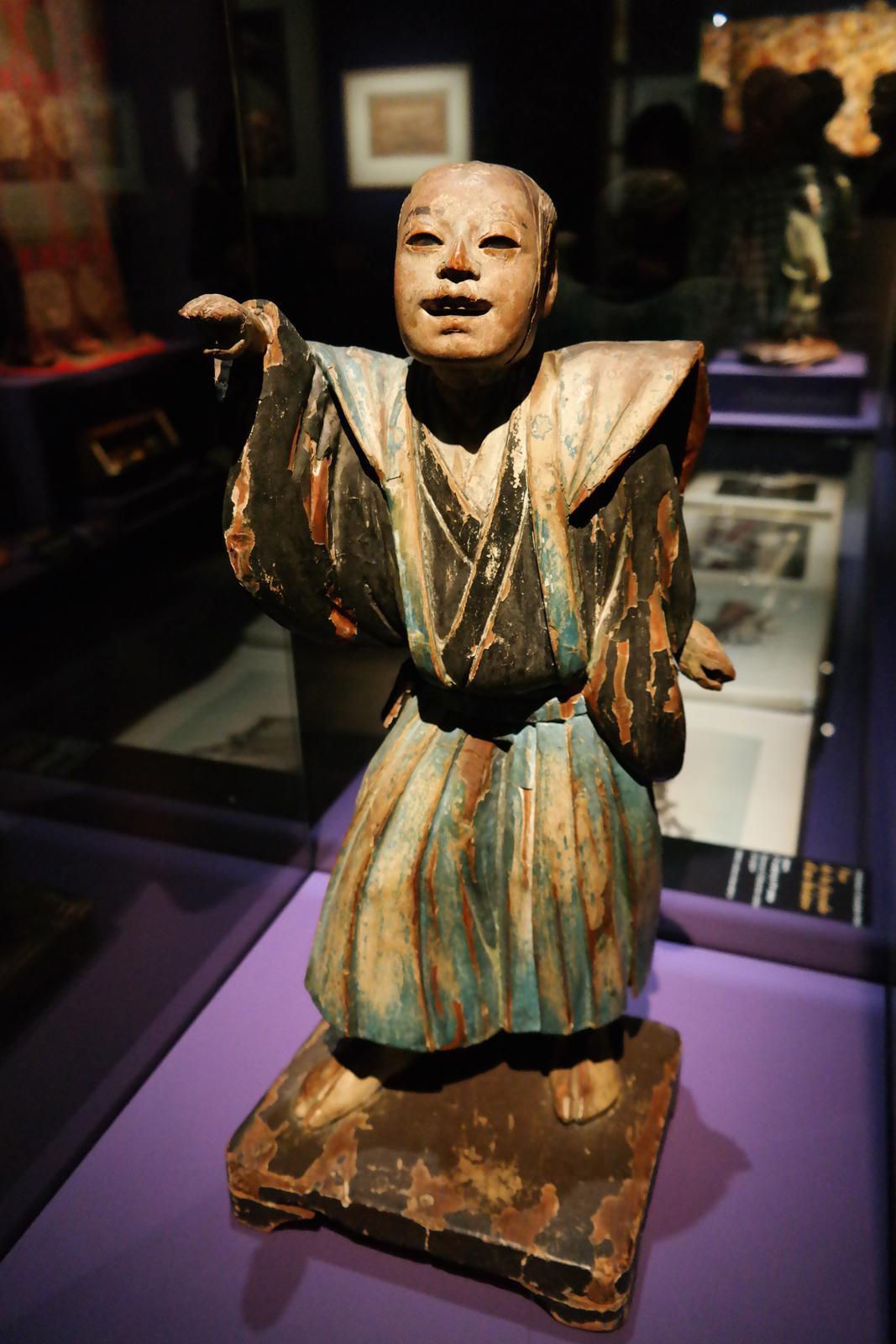 Acteur de nô, Japon, époque Momoyama (1575-1603)
