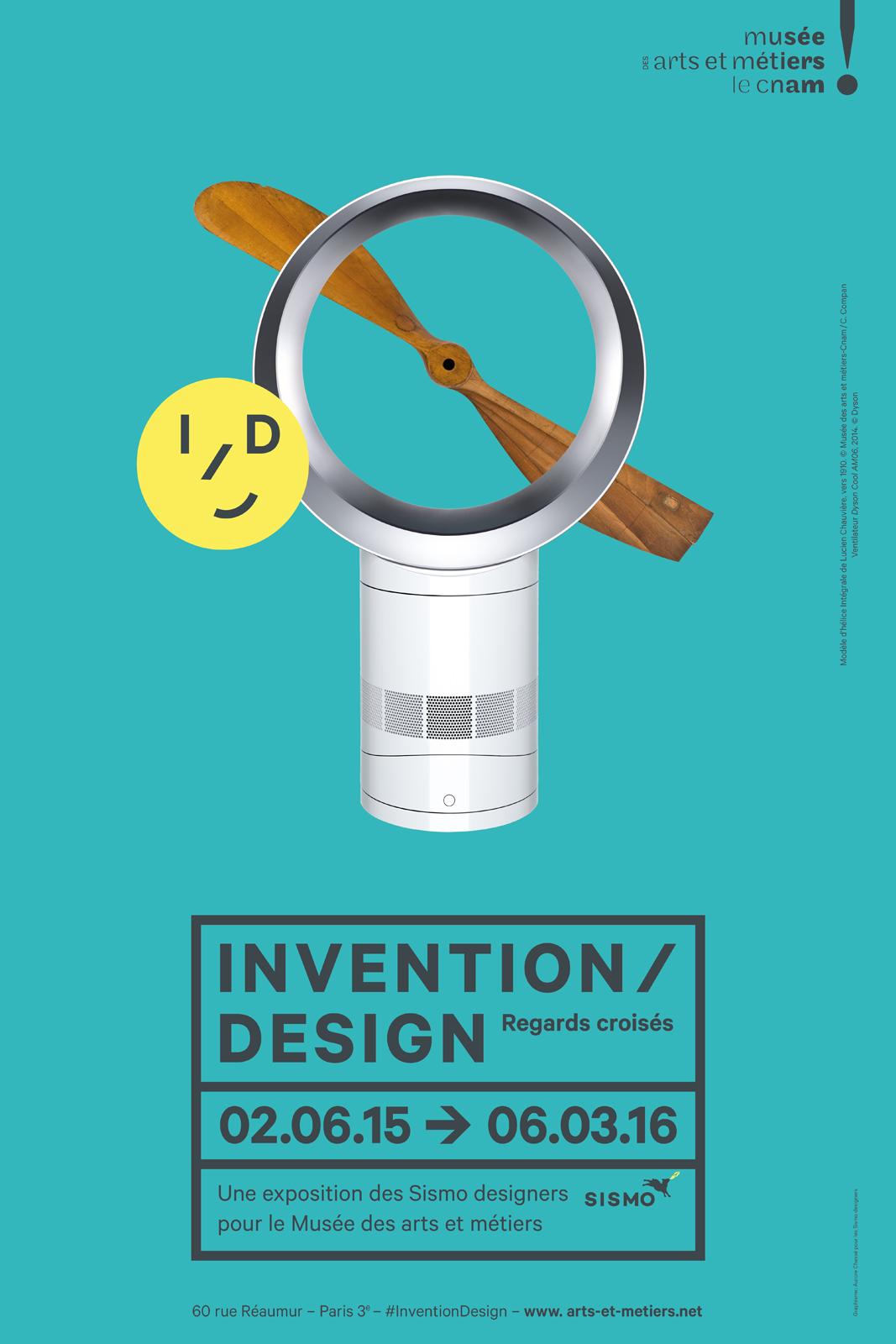 Invention Design Regards croisés exposition Musée des Arts et métiers le cnam paris expo des Sismo designers