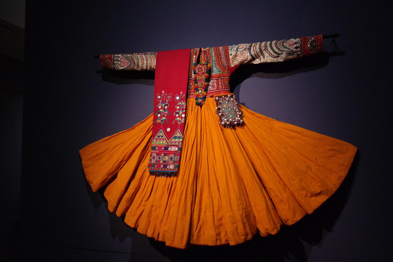 Robe de princesse pour le Mahabharata de Peter Brook