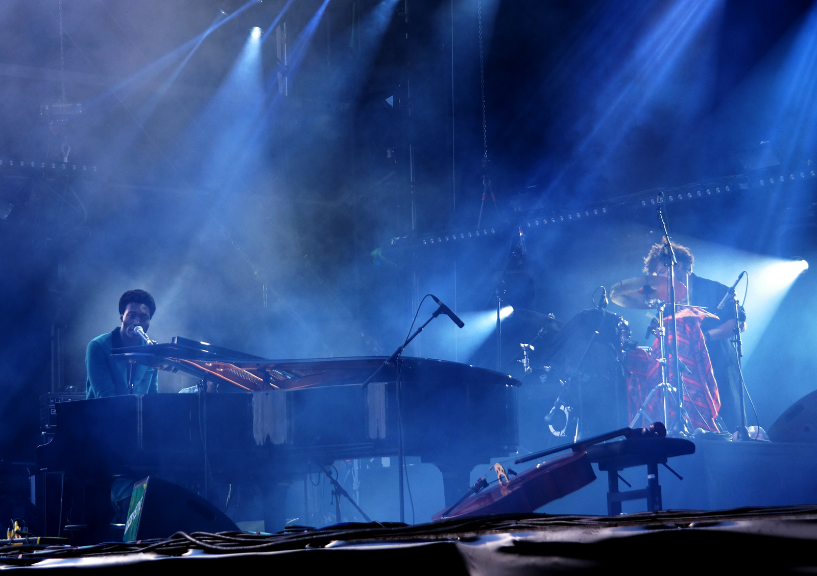Benjamin Clementine live Rock en Seine 2015 festival concert stage photo by united states of paris blog