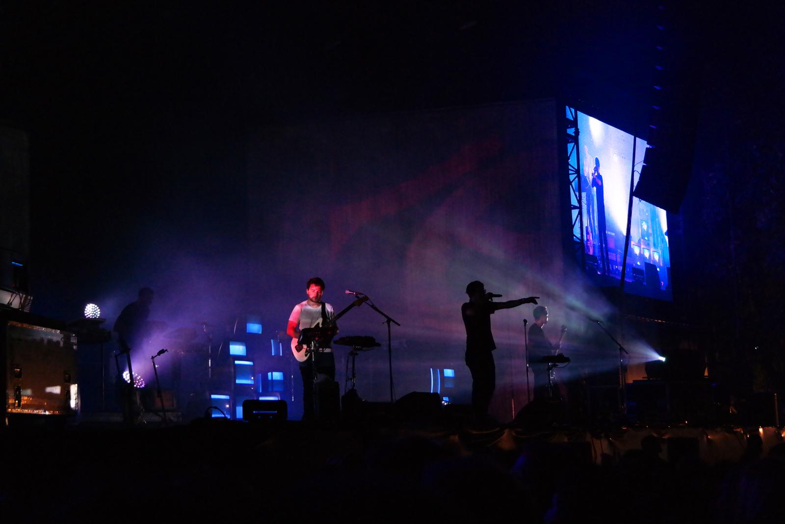 Fauve corp groupe live Rock en Seine 2015 festival concert photo scène by united states of paris blog