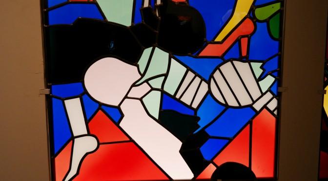 Le vitrail contemporain à la Cité de l'architecture : déflagration de couleurs et de créations !