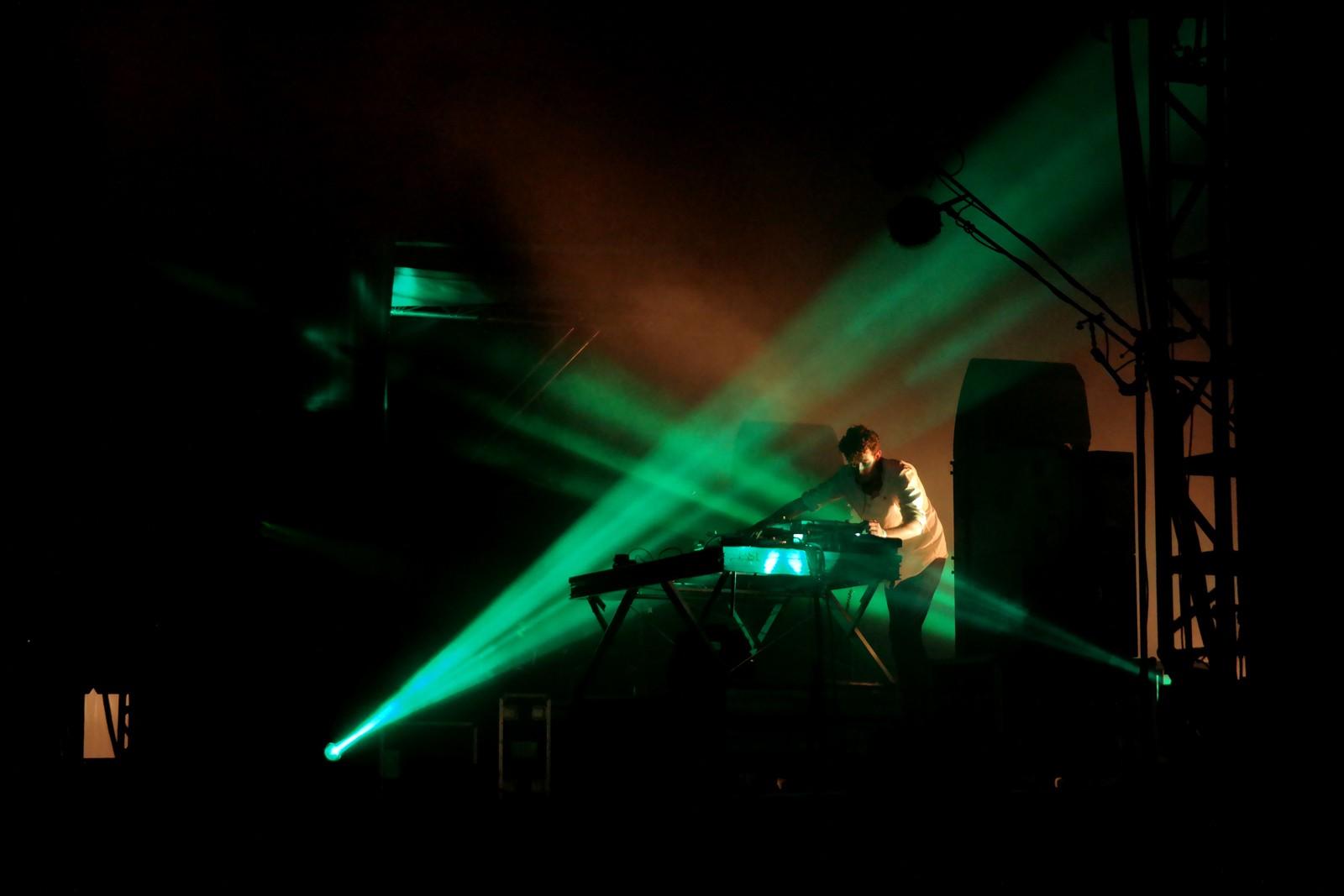 Jamie XX dj set live Rock en Seine 2015 music festival france stage photo by united states of paris blog