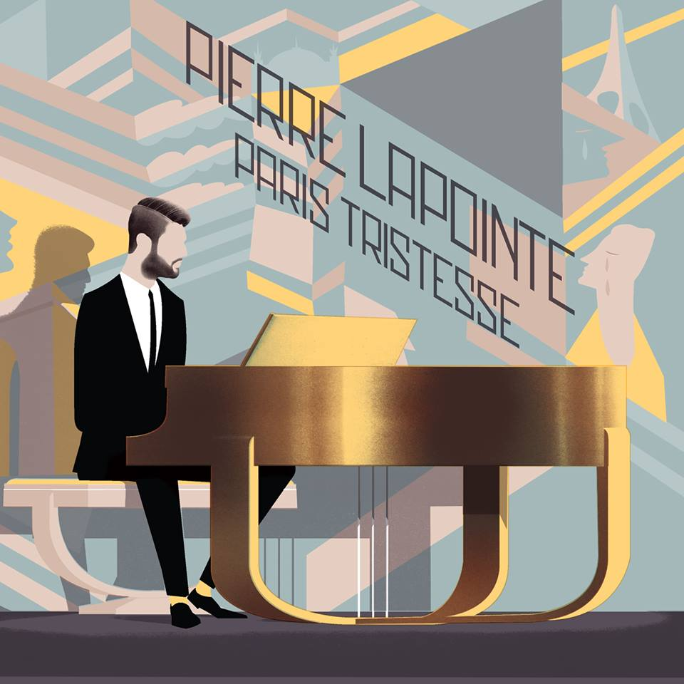 Pierre Lapointe Paris Tristesse pochette album spéciale Québec Audiogram musique