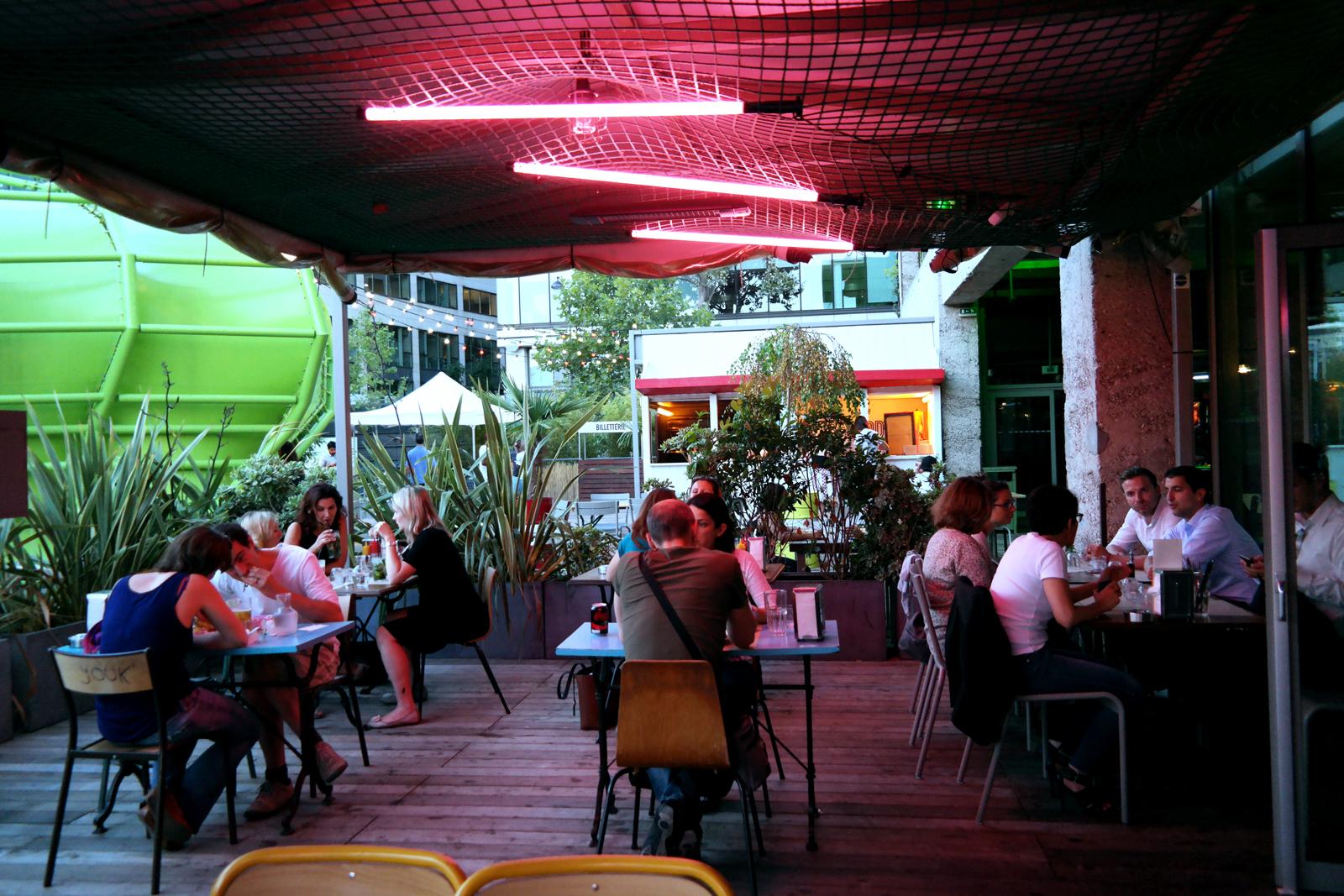 Terrasse Diner Bedford Wanderlust cocktails & burgers restaurant Cité de la Mode et du Design photo united states of paris blog