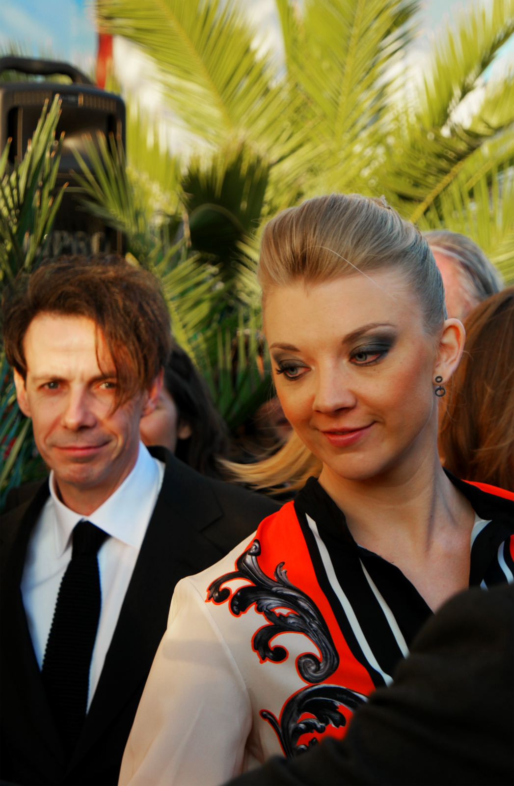 Natalie Dormer Game of Thrones The Tudors actress actrice Noah Taylor actor opening Festival Britannique du film de dinard 2015 red carpet photo by usofparis