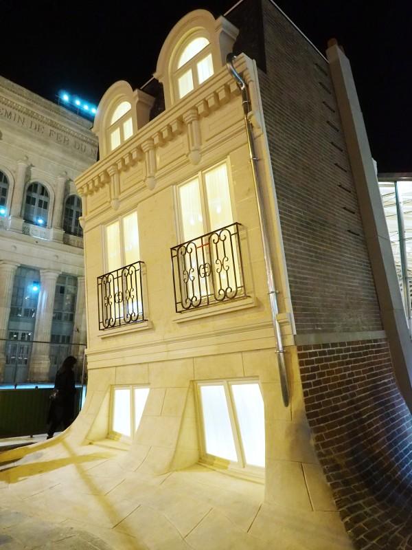 Nuit Blanche 2015 Paris programme Leandro Erlich Maison Fond art expo exposition parcours photo by united States of Paris