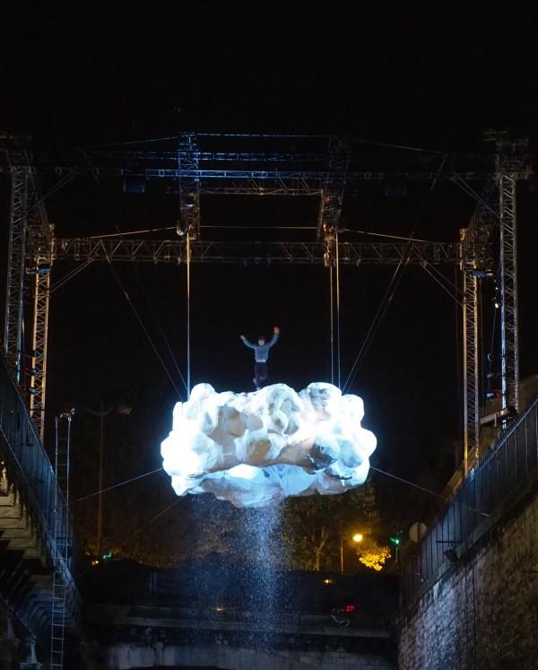 Nuit Blanche 2015 Paris programme Stéphane Ricordel Nuage art expo exposition parcours photo by united States of Paris