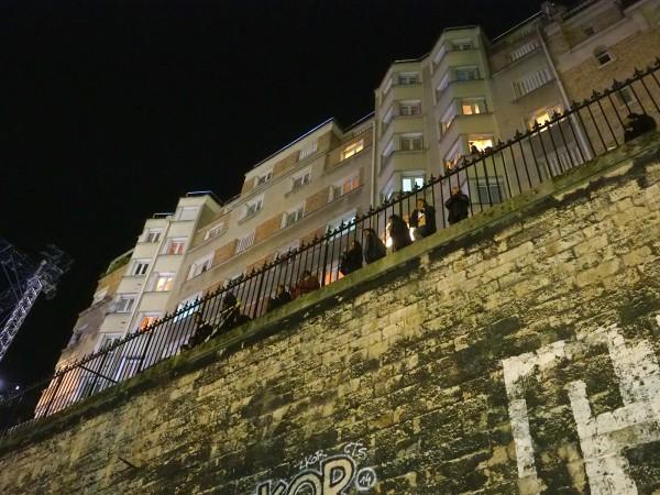 Nuit Blanche 2015 Paris programme Stéphane Ricordel Public passant art expo exposition parcours photo by united States of Paris