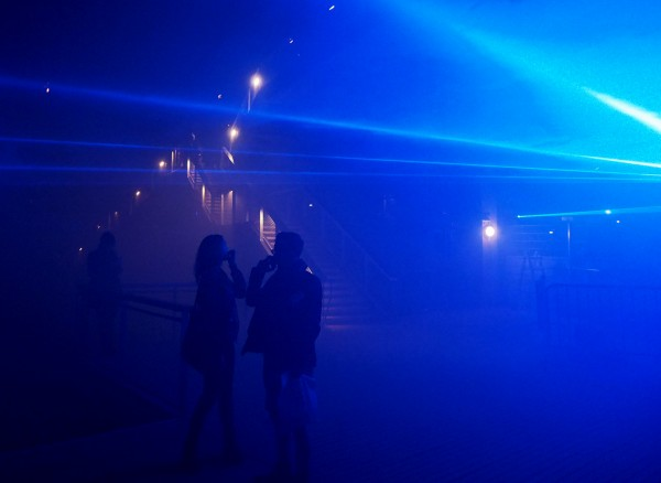 Nuit Blanche 2015 Paris programme Waterlicht Daan Roosegaarde art expo exposition parcours photo by united States of Paris