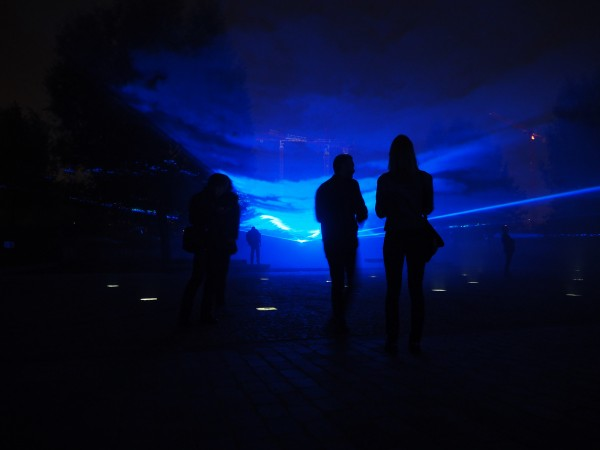 Nuit Blanche 2015 Paris programme Waterlicht Daan Roosegaarde art exposition parcours photo by united States of Paris