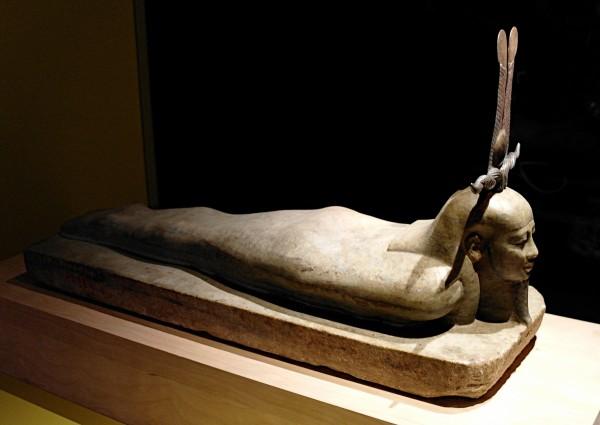 OSIRIS Mystères engloutis d'Égypte Institut du monde arabe expo art hsitoire sculpture photo by Joel Clergiot Blog United States of Paris