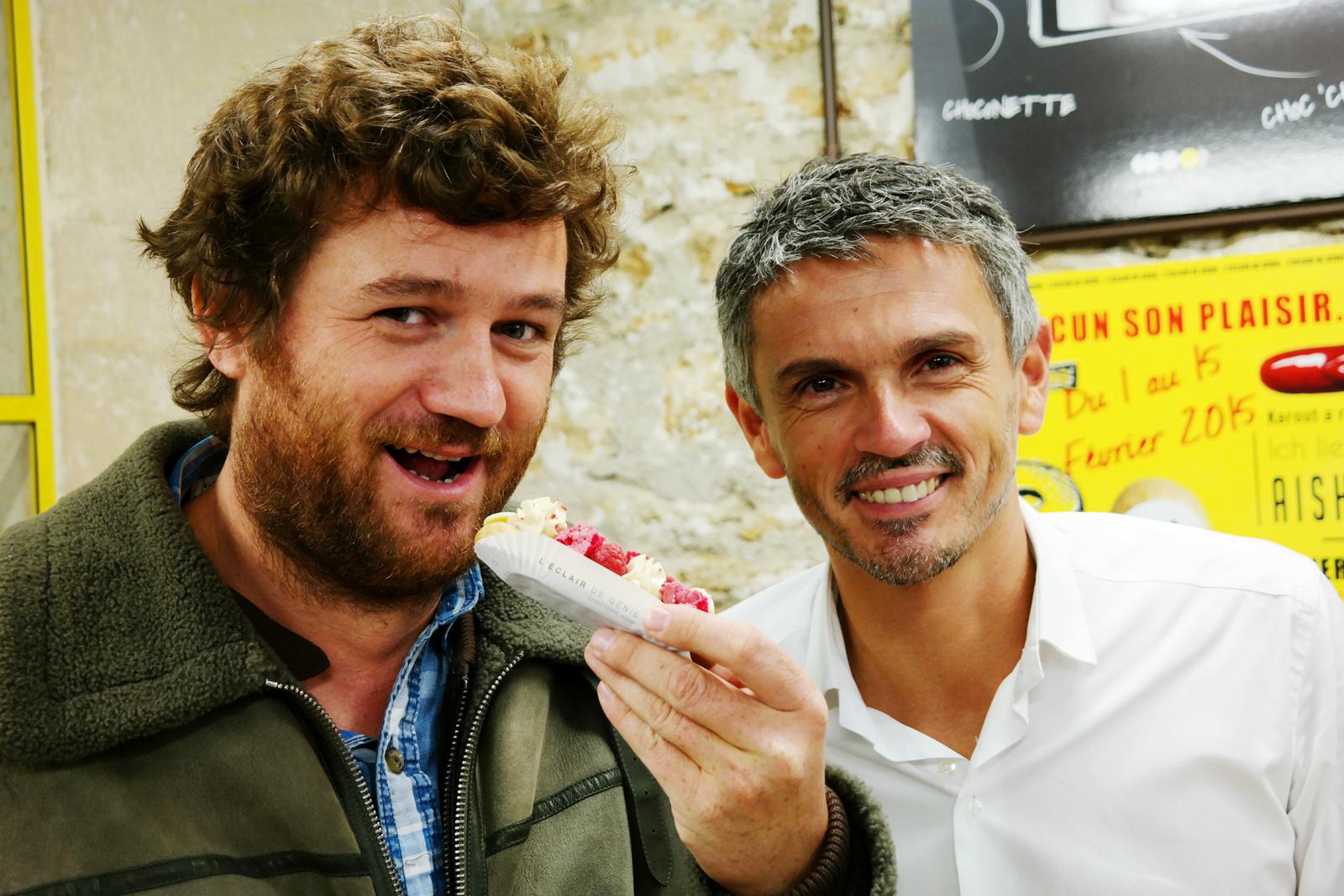 Olivier de Benoist et Christophe Adam