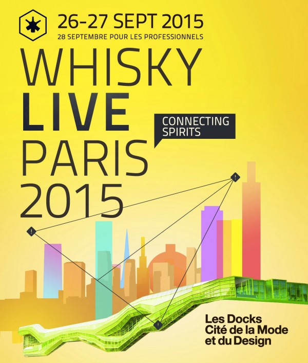 Whisky Live Paris salon affiche Les Docks CIté du design Blog United States of Paris