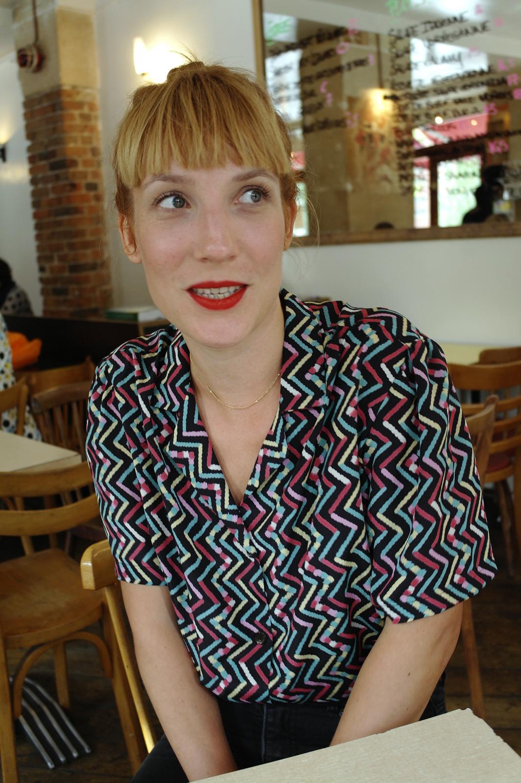 Zaza Fournier chanteuse interview album Le Départ concert tournée photo by joël clergiot united states of paris blog