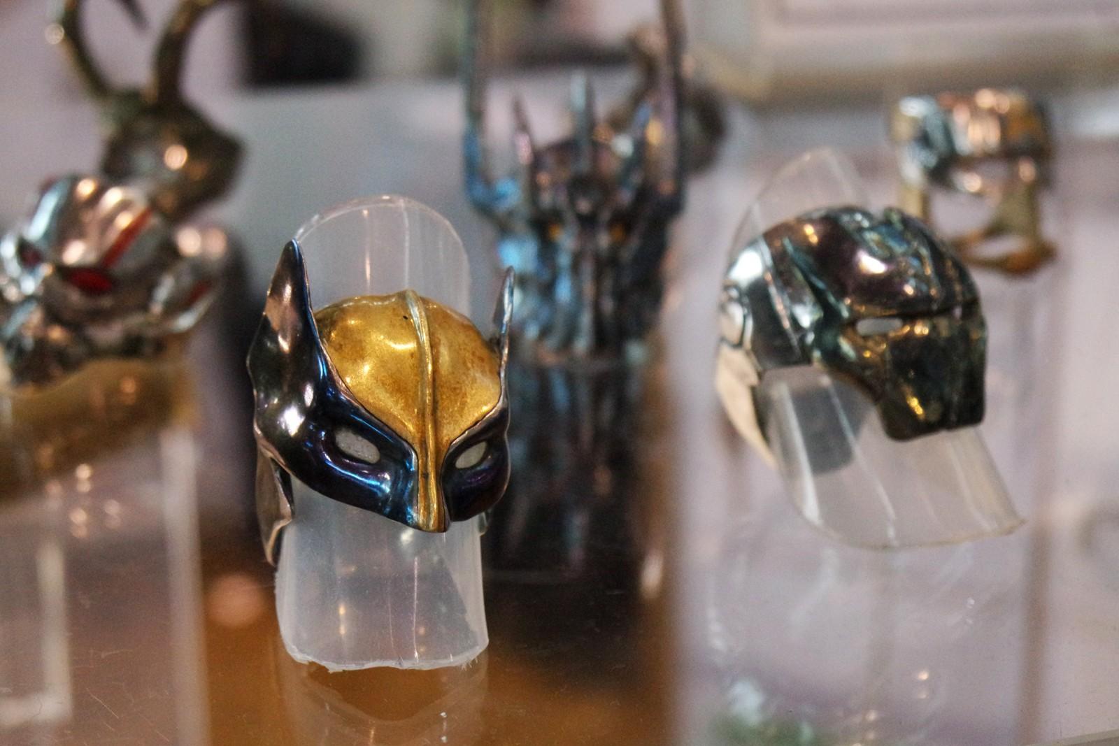 Bague originale I am the immortal créé par Nous sommes des héros artefacts légendaires bijoux fabriqués à la main en France Comic Con Paris festival 2015 Grande Halle de la Villette