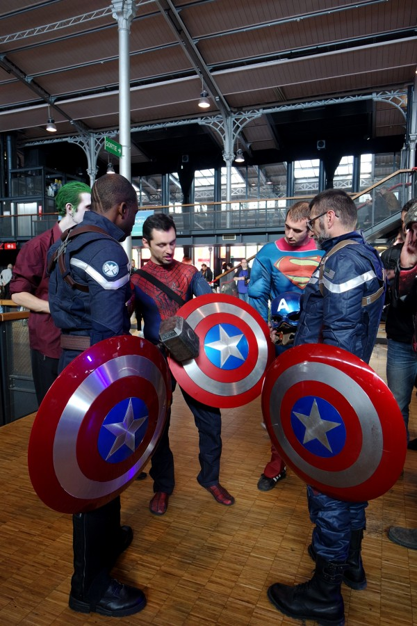 Comic Con Paris 2015 costume avenger captain américa film festival cosplay best of Grande Halle de la villette Photo by United States of Paris