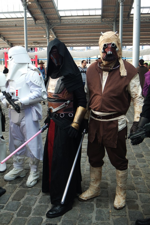 Comic Con Paris cosplay 501 Stfrench garrison Légion france star wars starwars Grande Halle de la villette Photo by United States of Paris