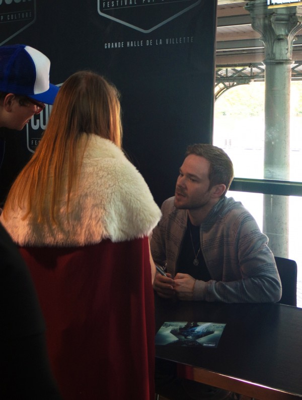 Comic Con Paris shawn ashmore dédicace fan xmen best of Grande Halle de la villette Photo by United States of Paris