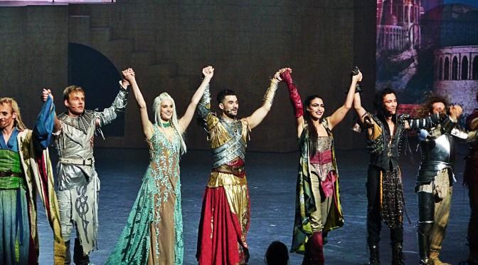 La Légende du Roi Arthur, le spectacle musical en 4 références !