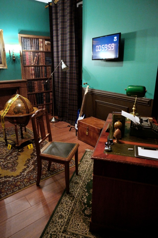 Lock Academy Escape Game thriller Cluedo intéractif enigme jeu fun Photo by United States of Paris
