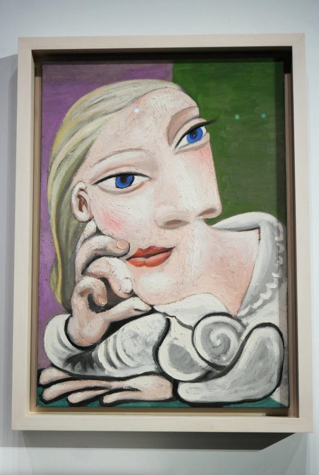 Marie-Thérèse accoudée, 7 janvier 1939, Pablo Picasso