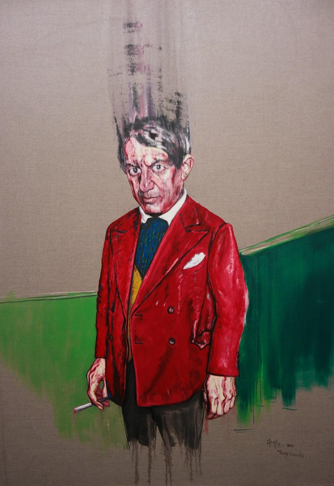 Picasso, 2011, Zeng Fanzhi