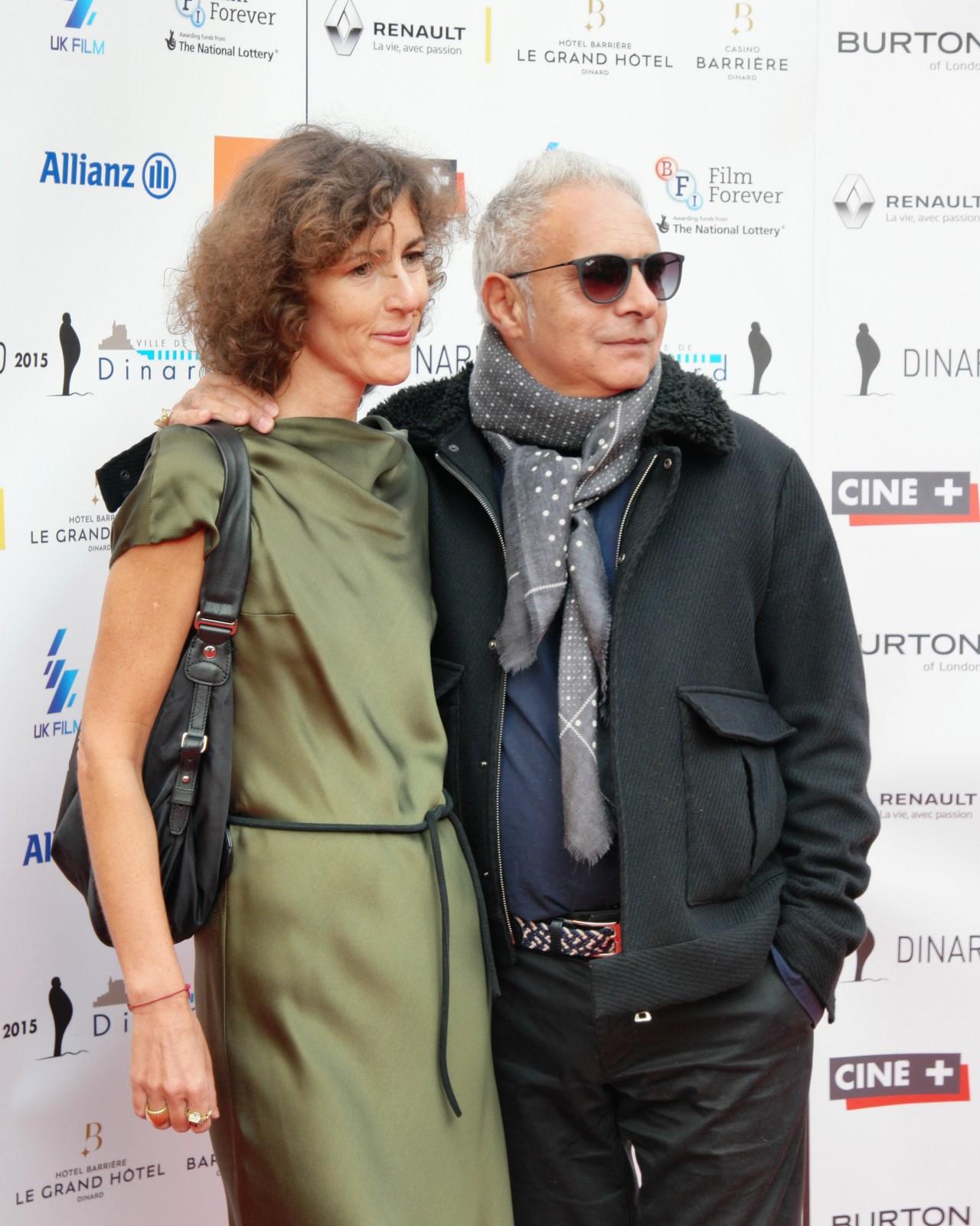 Hanif Kureishi et son épouse