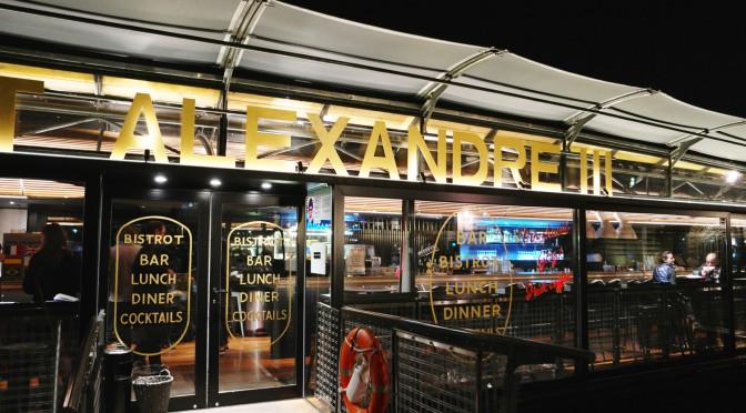 Bistrot Alexandre III : des saveurs surprenantes et de la délicatesse avec vue sur la Seine