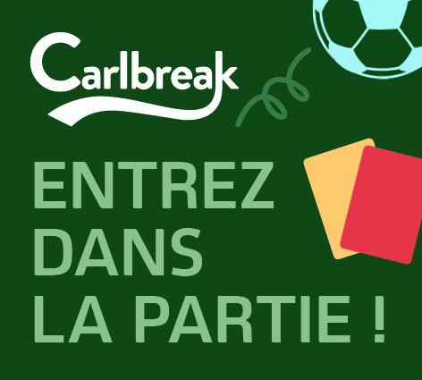 Carlbreak entrez dans la partie soirée paris EURO 2016 football avec Carlsberg partenaire