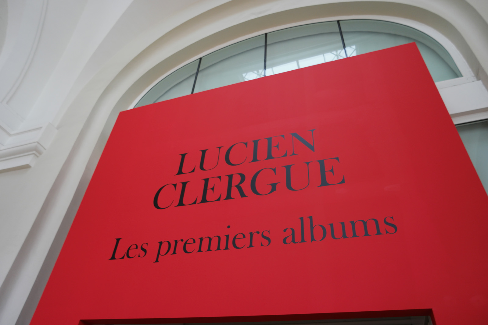 Entrée exposition photo Lucien Clergue Les premiers albums Grand Palais galeries nationales poret H photo united states of paris blog