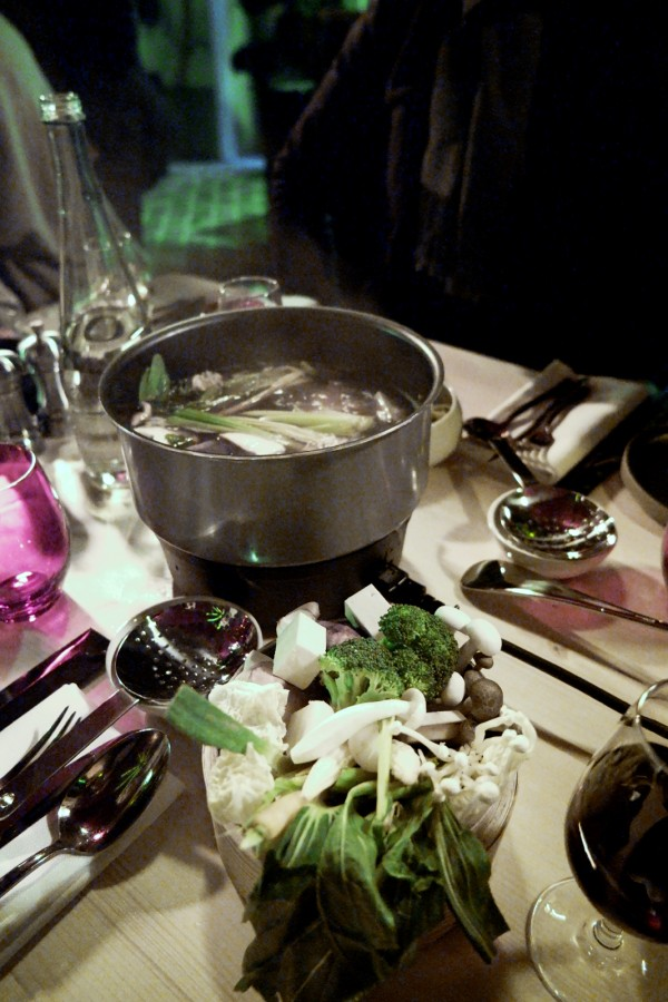 forêt enchantée terrasse hiver 2015 buddha bar hotel Le Vraymonde shabu shabu avis critique menu gastronomie photo by united States of Paris