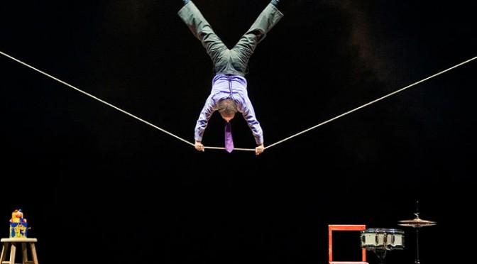 Circus Incognitus de Jamie Adkins au Théâtre de l'Atelier : jubilatoire !