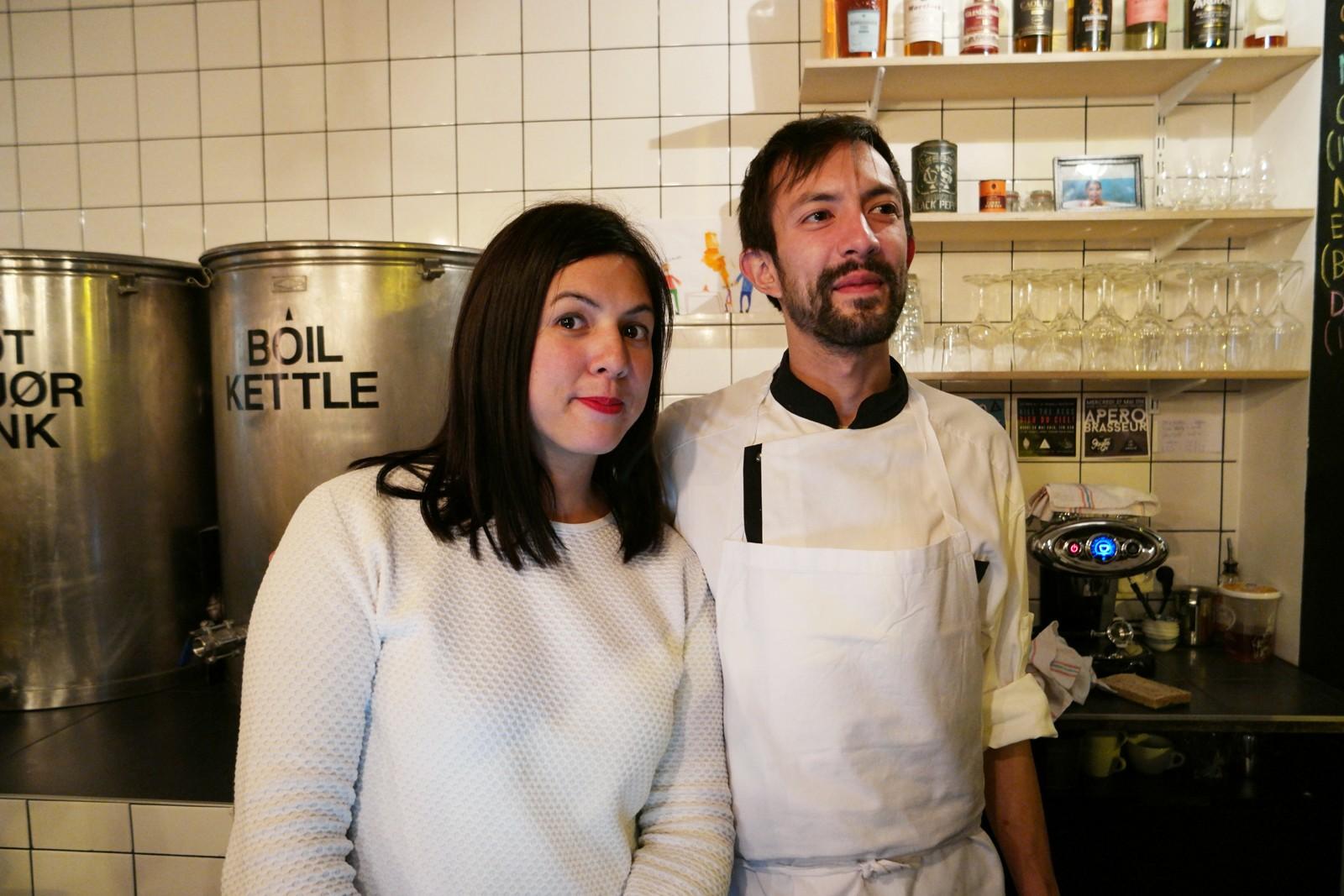 Maïly et Laurent