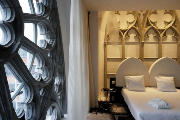 Hotel Dream Mons avis prix tarif critique belgique chambre thème ogive déco église tourisme Photo by blog United States of Paris